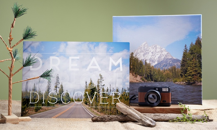 On Canvas For You - Mission Valley East: Single Thin Photo Canvas Print from On Canvas For You (Up to 53% Off). Four Options Available.