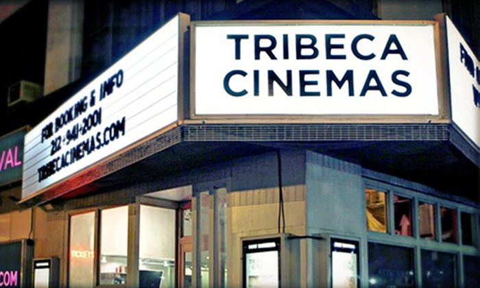 "Tribeca Cinemas - Tribeca: $22 for a ""When Harry Met Sally"" Movie Night with Beer or Wine for Two on August 9 at Tribeca Cinemas ($50 Value)"