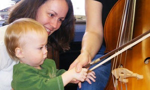 The Virginia Beach School of the Arts: $26 for One Month of Kids' Music and Education Classes at The Virginia Beach School of the Arts (Up to $62 Value)