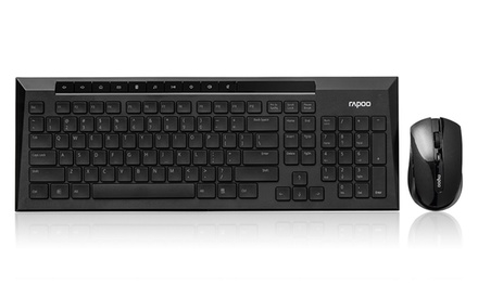 Rapoo 8200P 5G Multimedia Wireless Keyboard and Mouse