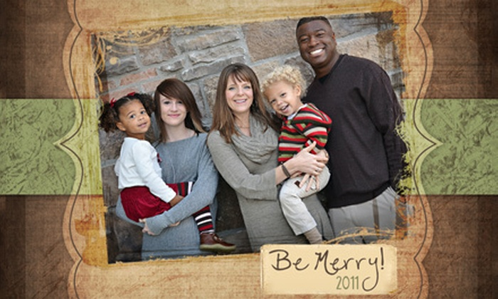 Classic Image Photography - Mishawaka: $69 for an In-Studio Photo Shoot and 50 Holiday Cards at Classic Image Photography ($215 Value)