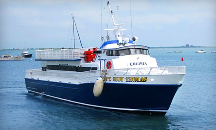 Waterfront Enterprises - Boston: $25 for One Roundtrip Ferry Ride Between Plymouth and Provincetown from Waterfront Enterprises (Up to $43 Value)