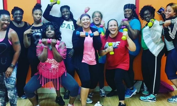FluffyNFitness - FluffyNFitness: 10 Dance-Fitness Classes at FluffyNFitness (33% Off)