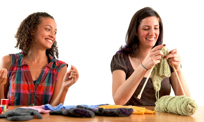 Yarnover - Avon: Three or Six Knitting Classes at Yarnover in Avon (Half Off)