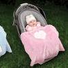 Wendy Bellissimo Baby-Blanket and Strap-Cover Set