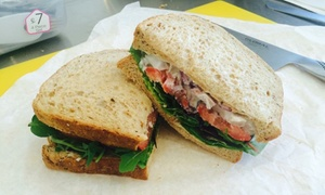Bread The Sandwich Company: Two-Course Lunch for One or Two at Bread The Sandwich Company