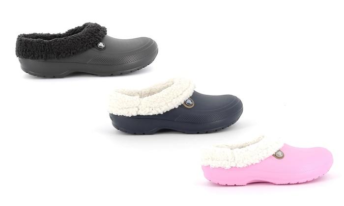 buy popular fc8ad faac7 Sandalo Crocs imbottito invernale | Groupon Goods