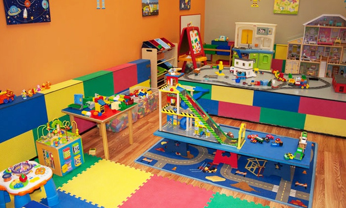C&A Robot Factory - Libertyville: 6 or 12 Open-Play Sessions for One Child and One Adult at C&A Robot Factory (Up to 73% Off)