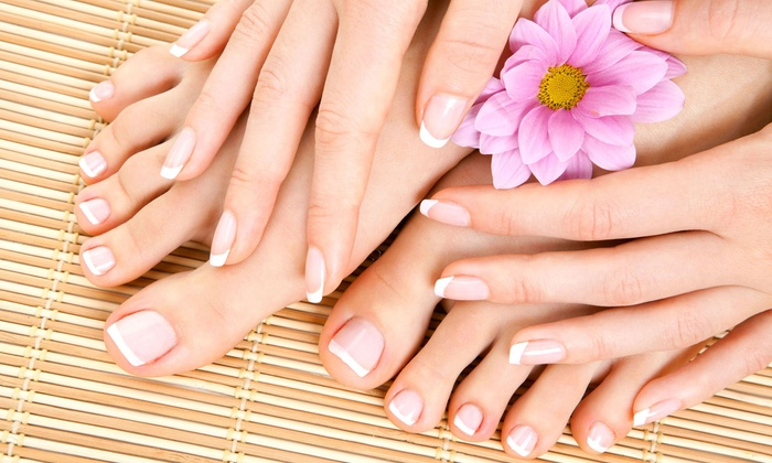 Capello Salon and Day Spa - Branford: Mani-Pedi with Sugar Scrub at Capello Salon and Day Spa (Up to 54% Off)