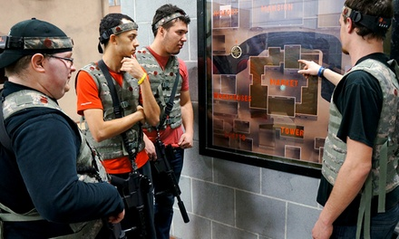 Tactical Laser Tag on Action Movie-Style Sets for One, Two, or Four at iCOMBAT Waukesha (Up to 47% Off)