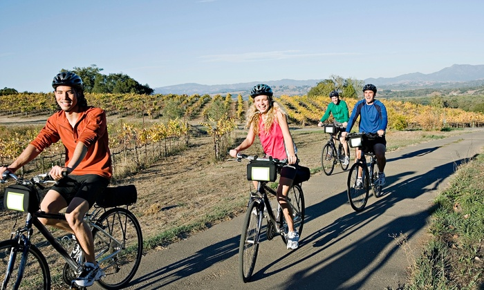 Wine-Country Bike Tour with Optional Golf for One, Two, or Four from MountNbarreL (Up to 27% Off)