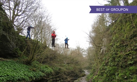 Two-Hour High Wire Adventure Course from £19 at How Stean Gorge (Up to 62% Off)