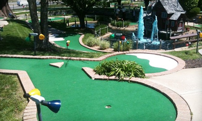 Swing-A-Round Fun Town - Fenton: $10 for Mini Golf with Batting-Cage Token and Two Attraction Passes at Swing-A-Round Fun Town (Up to $20.50 Value)