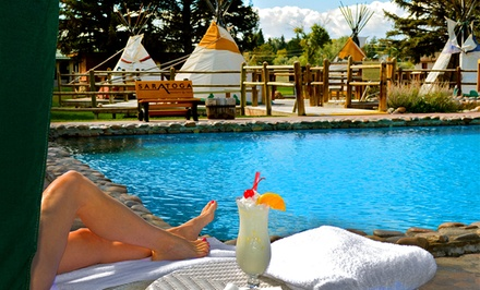 Saratoga Hot Springs Resort in Wyoming with Craft Beers