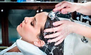 A & K Hair and Beauty: Cut, Blow-Dry and a Conditioning Treatment with an Optional Full Head Colour at A & K Hair and Beauty (Up to 68% Off)