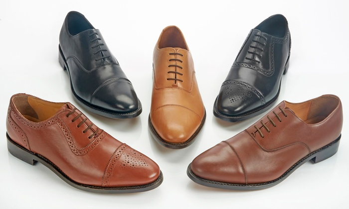 Samuel Windsor Handmade Italian Mens Leather Shoes - Multi Colours