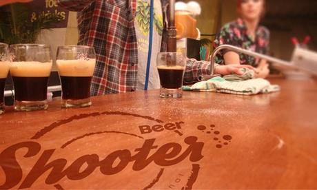 Beer Shooter: pack de 5 cervezas artesanales por 12,90 €