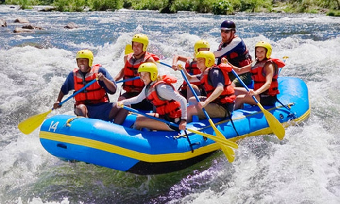 Adrift Adventures - Jensen: $379 for a Four-Day Whitewater-Rafting Trip ($785 value). Six Dates Available.