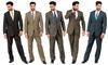 DeZillino Men's 2-Piece Suit: DeZillino Men's 2-Piece Suit