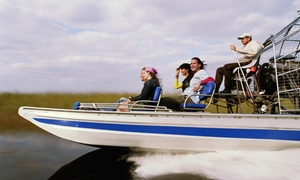 A Ultimate Airboats & Eco Tours: 90-Minute Airboat Tour and Eco Safari for One, Two, or Four at Orlando Swamp Tours (Up to 45% Off)