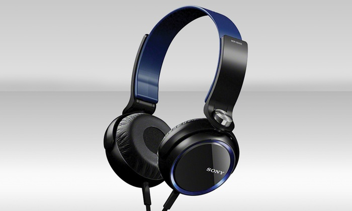 Sony Extra Bass Headphones with Inline Remote for iPhone/iPod/iPad: Sony Extra Bass Headphones with Inline Remote for iPhone/iPod/iPad (MDRXB400IP).
