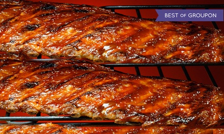 Barbecue Dine-in or Takeout at Michelbob's Championship Ribs (33% Off)