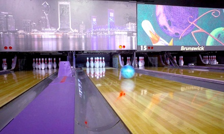 Two Games Of Bowling With Drinks Beach Bowl Groupon