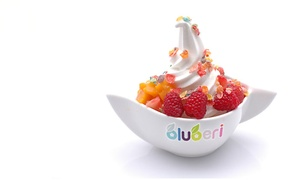 bluberi: $15 for Three Groupons, Each Good for $10 Worth of Frozen Yogurt, Smoothies & Teas at bluberi ($30 Value)