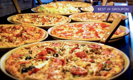 $25 for $50 Worth of Pizza, Chicken, and Buffet at Pizza Ranch