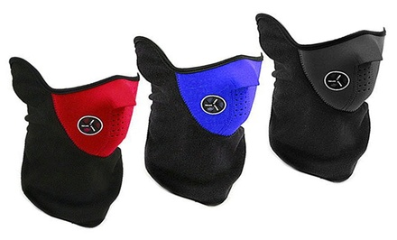 Three-Pack of Neoprene Cold Weather Masks