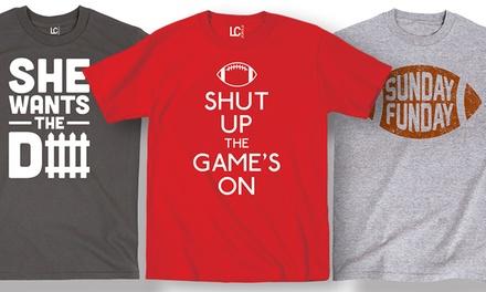 Men's Football Graphic T-Shirts