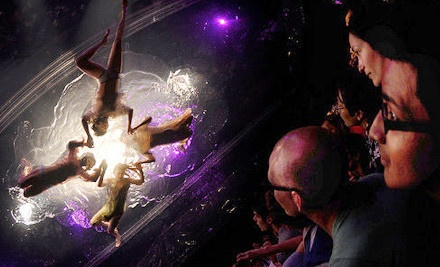 Fuerza Bruta at Daryl Roth Theatre from 5/9-7/15: General-Admission Seating - Fuerza Bruta in Manhattan