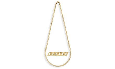 Solid 14K Gold Unisex Cuban Chains. Lengths 16