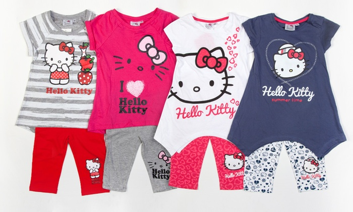 3f39927e2 Two Hello Kitty Summer Outfits   Groupon Goods