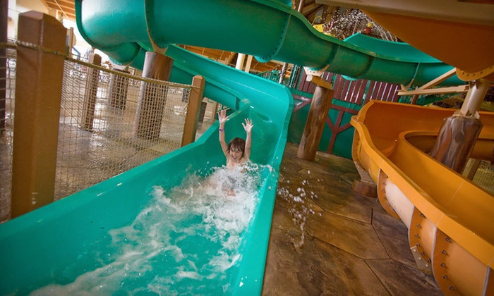 Great Wolf Lodge Kansas City - Kansas City, KS: One-Night Stay with Six Water-Park Passes and MagiQuest Game at Great Wolf Lodge Kansas City