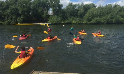 image for Kayaking or Canoeing Taster Session for Four, Six or Eight at Wokingham Waterside Centre (Up to 53% Off)