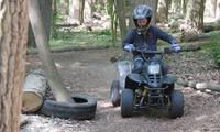 Stage de quad pour enfant dune demie-journée ou une journée avec option moto dès 29,99€ avec ROC events