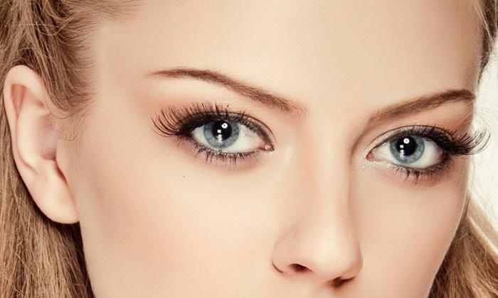 Bellezza Mia Spa - Santorini: Permanent Upper Eyeliner, Lower Eyeliner, or Both at Bellezza Mia Spa (Up to 75% Off)