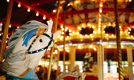 $18 for 30 Rides on the Bushnell Park Carousel from The New England Carousel Museum ($30 Value)