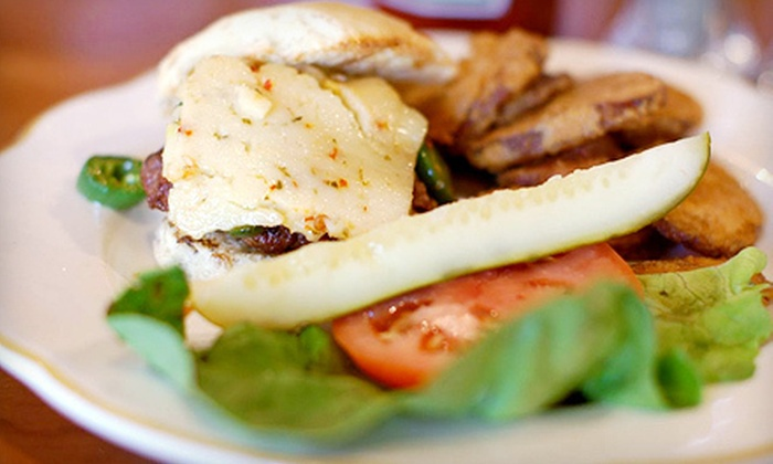 Chef Mike's Charcoal Grill - Indianapolis: Burgers and Draft Beers for Two or Four at Chef Mike's Charcoal Grill (Up to 52% Off)