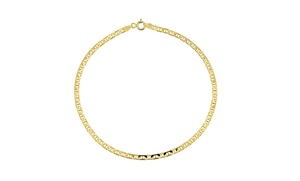 14K Solid Gold Italian Marino Anklet at 14K Solid Gold Italian Marino Anklet, plus 6.0% Cash Back from Ebates.