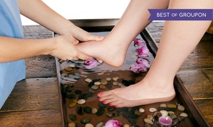 foot smile spa: Foot Reflexology Treatment with Detox Footbath and Optional Body Massage at Foot Smile Spa (Up to 64% Off)