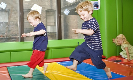 Indoor Play-Space Package with Classes and Play Sessions for 1 or 2 Children at Kidville Hoboken (Up to 75% Off)