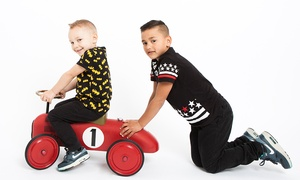 The Rainbow Photography Studio: Family Photoshoot With Canvas and Prints for £19 at The Rainbow Photography Studio (89% Off)