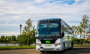 60% Off NYC to Niagara Round Trip from OurBus