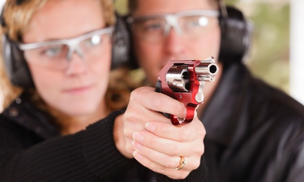 Shooting-Range Package for Two or Four at Shooter's World (Up to 48% Off)
