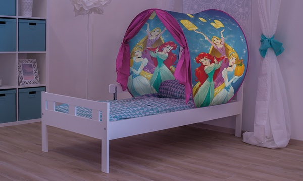 Tente De Lit Disney Avec Lampe Led Pour Enfants Modele Princesse Ou Les Pyjamasques