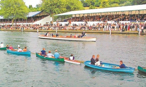 Maidenhead Steam Navigation Company: Henley Royal Regatta Package with Drinks, Lunch and Afternoon Tea, 4 or 8 July (Up to 36% Off)
