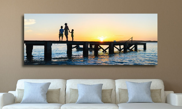 "Artsy Canvas: One or Two 20""x13"", 30""x20"", or 48""x12"" Gallery-Wrapped Canvas Prints from Artsy Canvas ( 69% Off )"