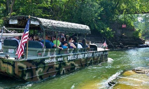 Dells Army Duck Tour: Amphibious Tour for Two or Four from Dells Army Duck Tour (Up to 48% Off)